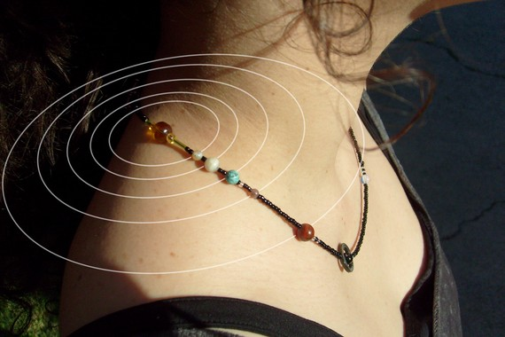 MiniVerse Solar System Necklace - by Laura Cesari
